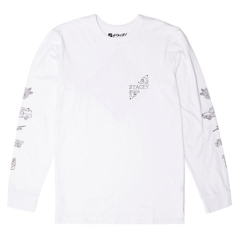Stacey Pedro Contraband LS Tee - White