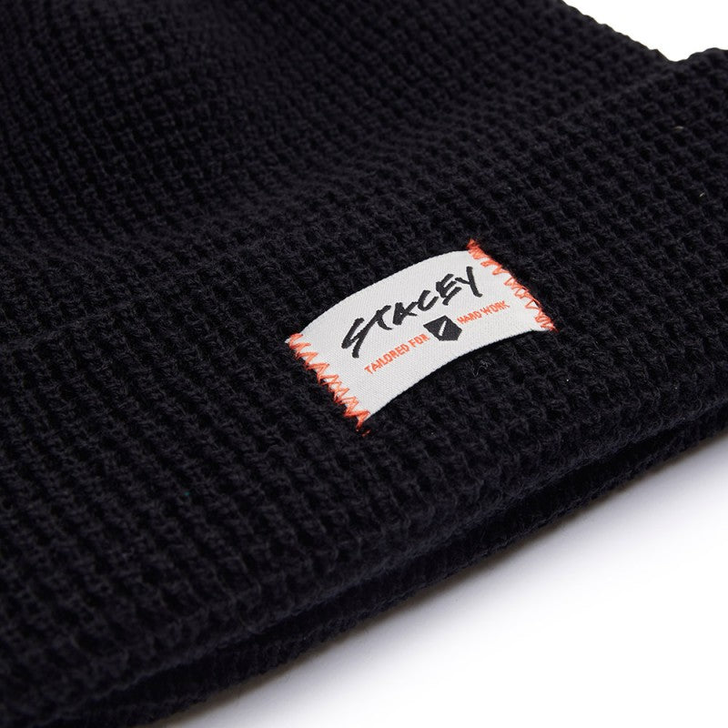 Stacey Sea Dog Beanie - Black