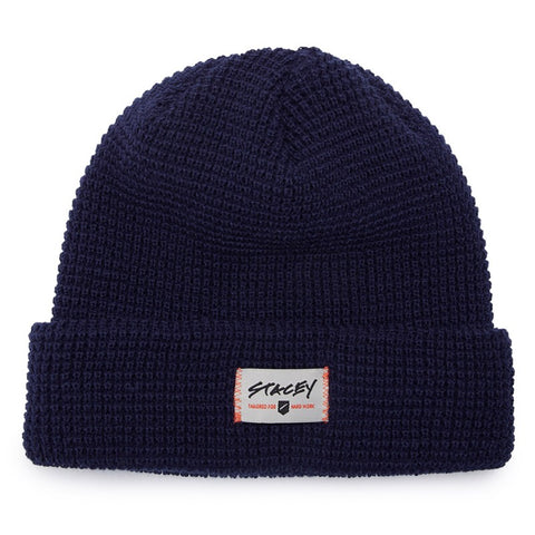 Stacey Sea Dog Beanie - Navy
