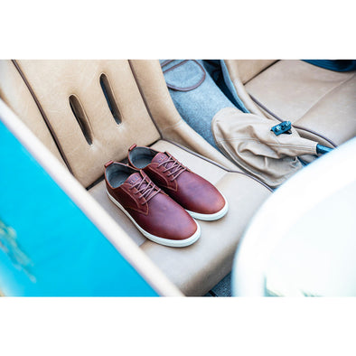 Clae Ellington Chestnut Leather