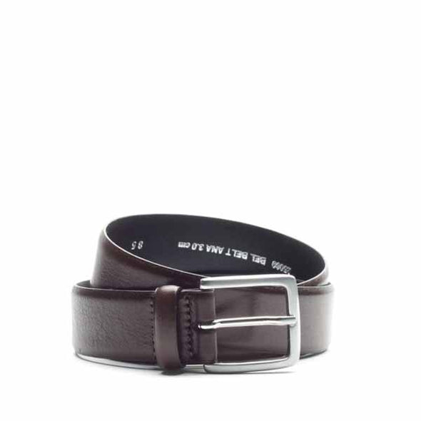 Bel Ana Leather Belt 3cm - Brown - Gingers & Providence