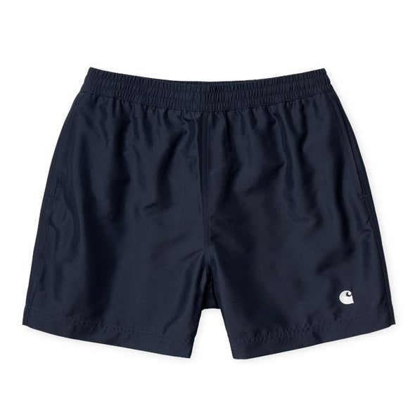 Cay Swim Trunk - Dark Navy / White - Gingers & Providence