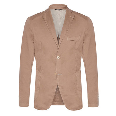 Cotton Blazer - Camel