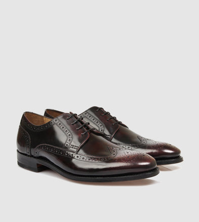 Davenport Brogue Burgundy