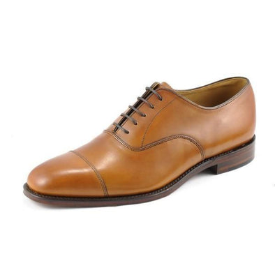 Aldwych Oxford - Tan Burnished Leather