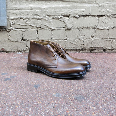 Range Tan Leather Desert Boot