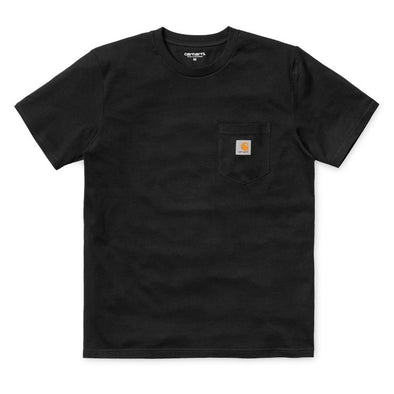 S/S Pocket T Shirt - Black