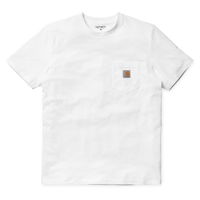 S/S Pocket T Shirt - White