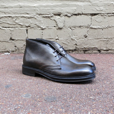 Range Dark Brown Leather Desert Boot - Gingers & Providence