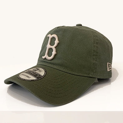 Boston Red Sox 9FORTY A Frame Snapback - Washed Olive - Gingers & Providence