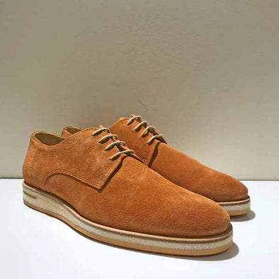 Venice Suede Derby- Tan