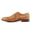 Alvaro Brogue Tan Kangaroo Leather