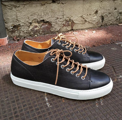 Arao Leather Sneaker Black