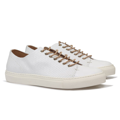 Arao Leather Sneaker White