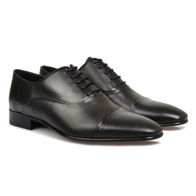Austin Leather Oxford Black