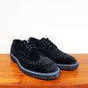 Brixton Black Suede Brogue
