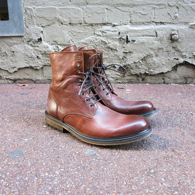 Chevy Boot - Brandy Leather - Gingers & Providence