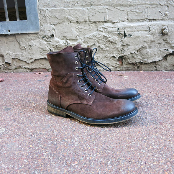 Chevy Boot - Oil Brown Suede - Gingers & Providence