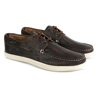 Dixon Deck Shoe Brown