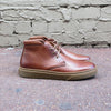 Dover - Tan Leather Mid Cut Sneaker - Gingers & Providence