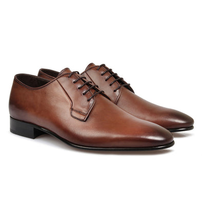 Ellis Leather Derby Brown
