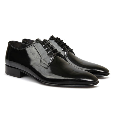 Ellis Patent Leather Black