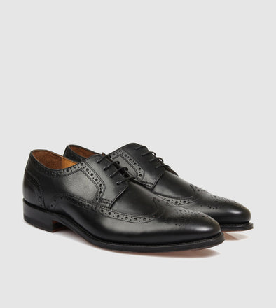 Halifax Brogue Black