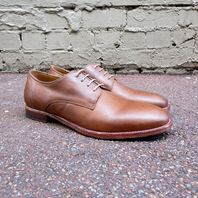 Kubrick Leather Lace Up - Tan - Gingers & Providence