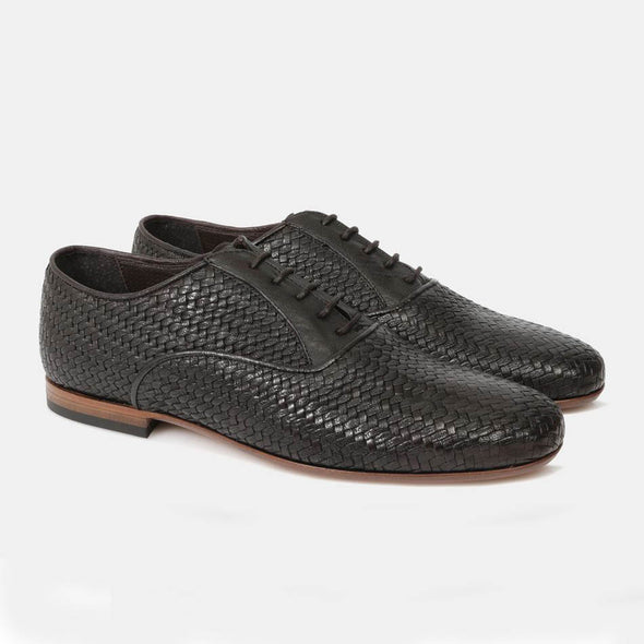 Lapo Weave Derby Brown