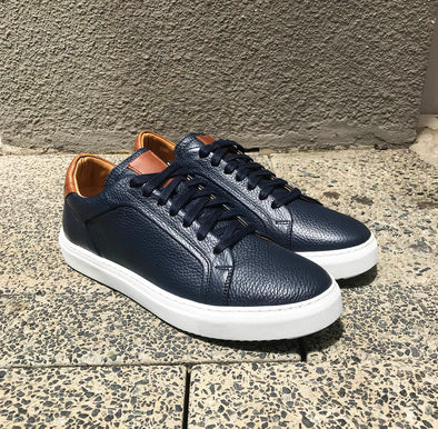 Noah Navy Leather 91099
