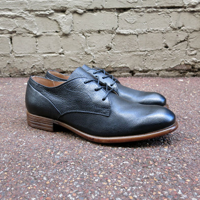 Pacifico Leather Derby - Black - Gingers & Providence