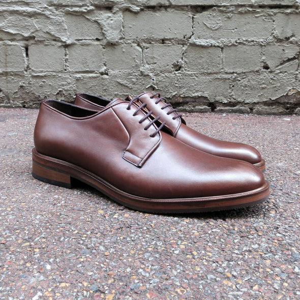 Phillips Lace Up Derby Brown - Gingers & Providence