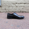 Rodeo Black Tumbled Leather Derby - Gingers & Providence