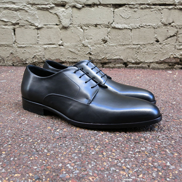Scorsese Leather Derby - Black - Gingers & Providence