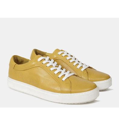 Seth Leather Sneaker Yellow