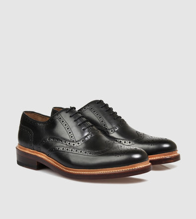 Walker Black Brogue