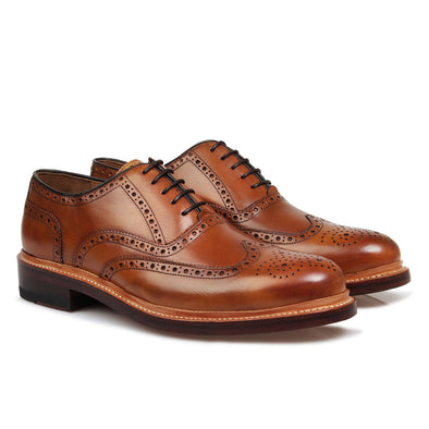 Walker Tan Brogue