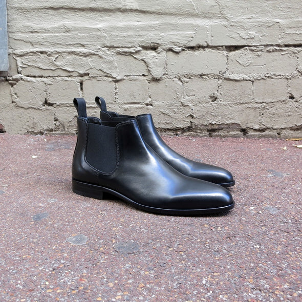 Matisse Black Leather Chelsea Boot