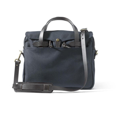 Rugged Twill Original Briefcase - Navy - Gingers & Providence