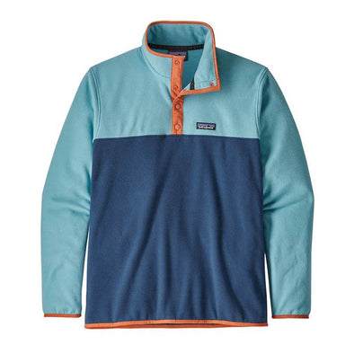 Micro D Snap-T Pull Over - Stone Blue w Dam Blue