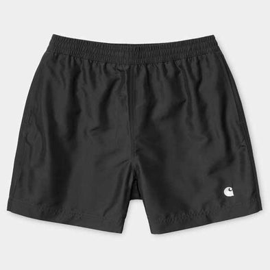 Cay Swim Trunk Black / White
