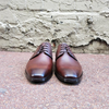 Hamilton Brown Leather Derby - Gingers & Providence