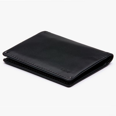 Slim Sleeve Wallet - Black - Gingers & Providence