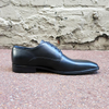 Hamilton Black Leather Derby