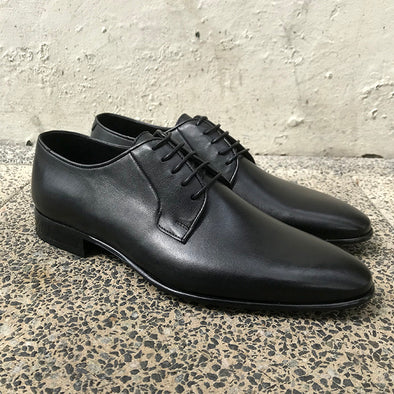 Dylan Leather Derby - Black