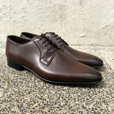 Dylan Leather Derby - Brown - Gingers & Providence