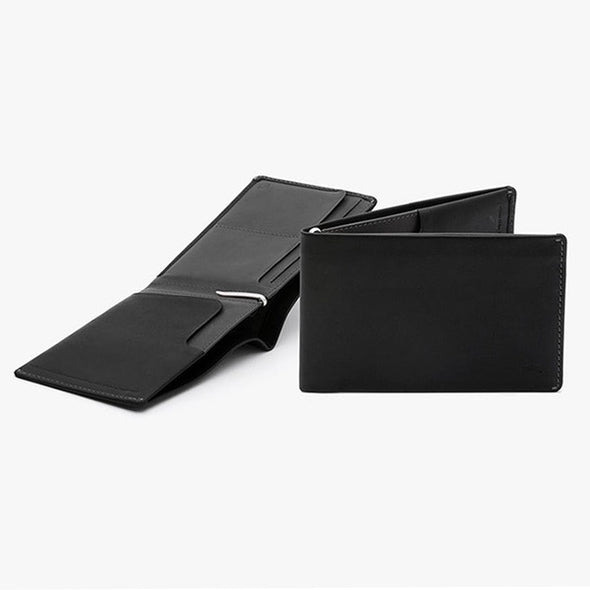 Travel Wallet with RFID - Black - Gingers & Providence