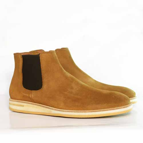 Fairfax Suede Chelsea Boot - Tan - Gingers & Providence