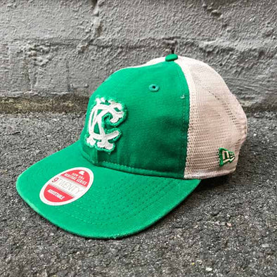 Kansas City Athletics Heritage Series 9TWENTY Cooperstown Trucker Cap - Green - Gingers & Providence