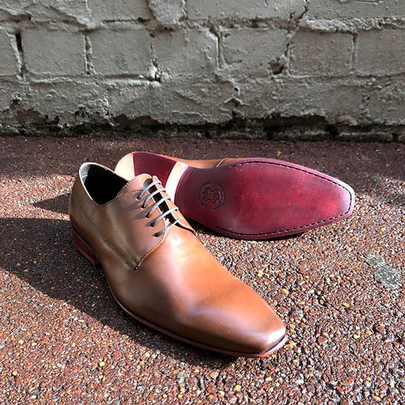 McCartney Leather Derby - Whisky
